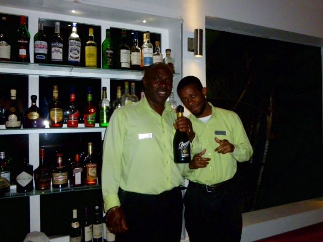 Montpelier Plantation & Beach bartenders Garfield and Nick love to help guest choose their cocktails