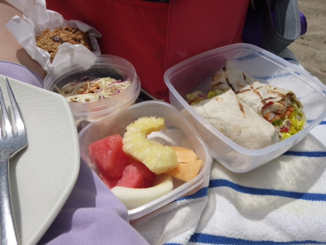 It's all in the plate: perfect picnic